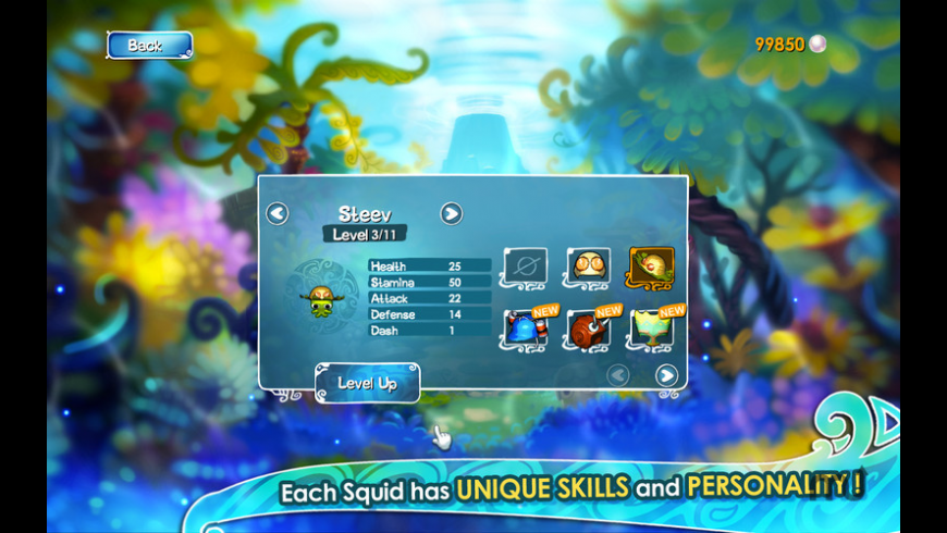 Squids for Mac - review, screenshots