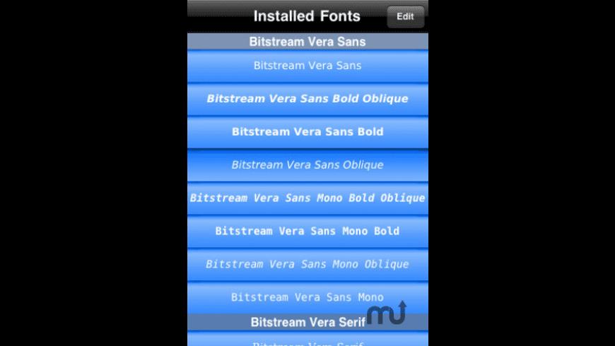 Font Wizard Lite for Mac - review, screenshots