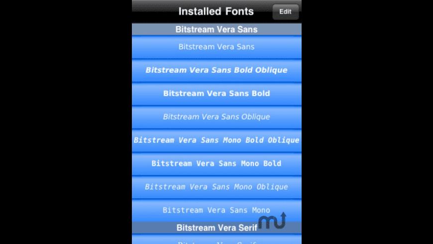 Font Wizard for Mac - review, screenshots