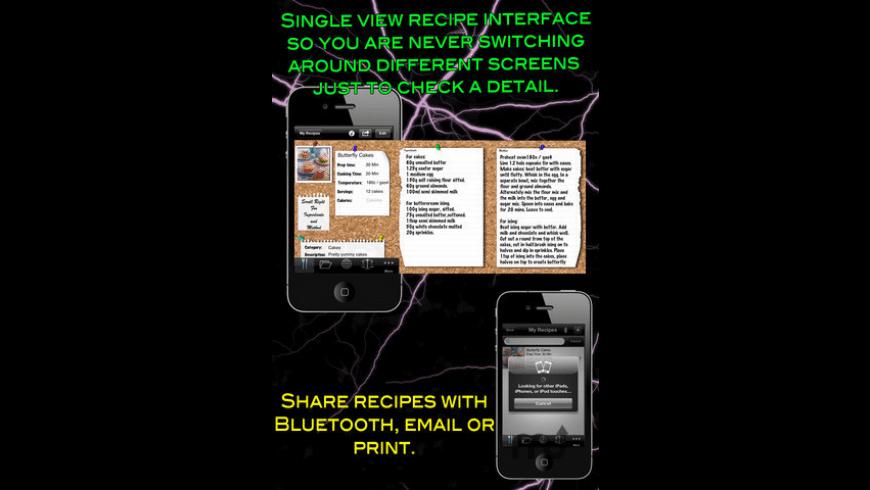 My Recipes for Mac - review, screenshots