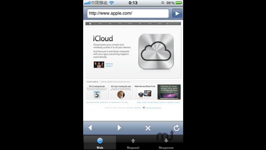 HTTP Sniffer for Mac - review, screenshots