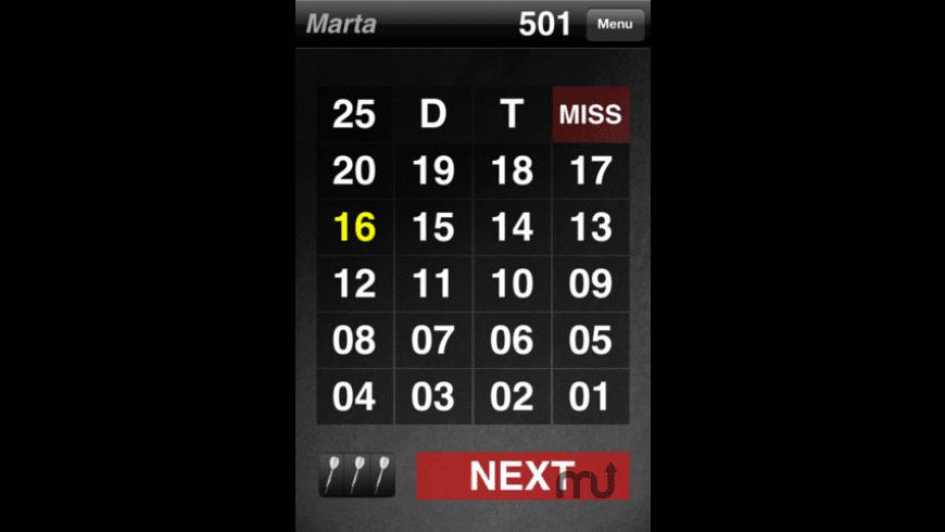 Easy Darts Scorer for Mac - review, screenshots