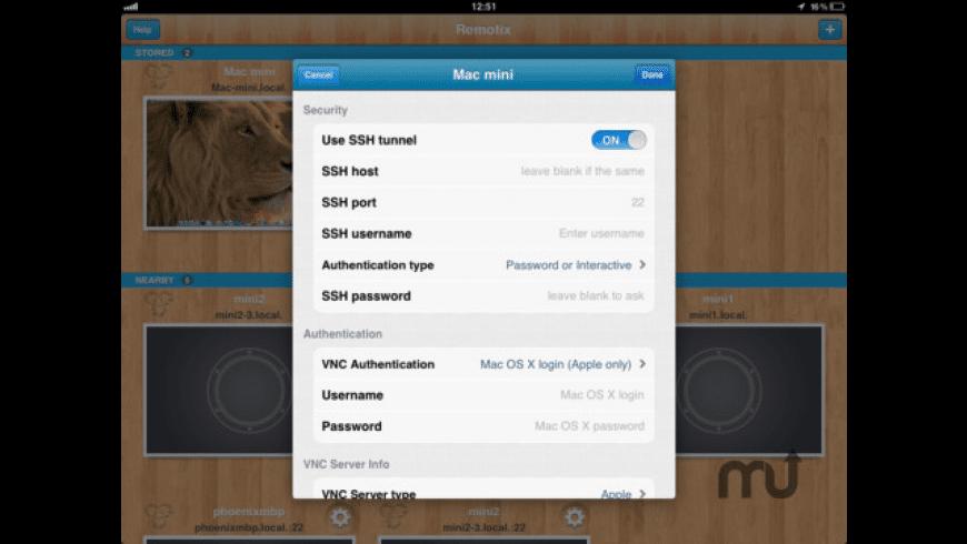 Remotix for Mac - review, screenshots