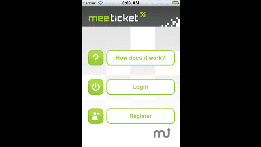 MeeTicket for Mac - review, screenshots