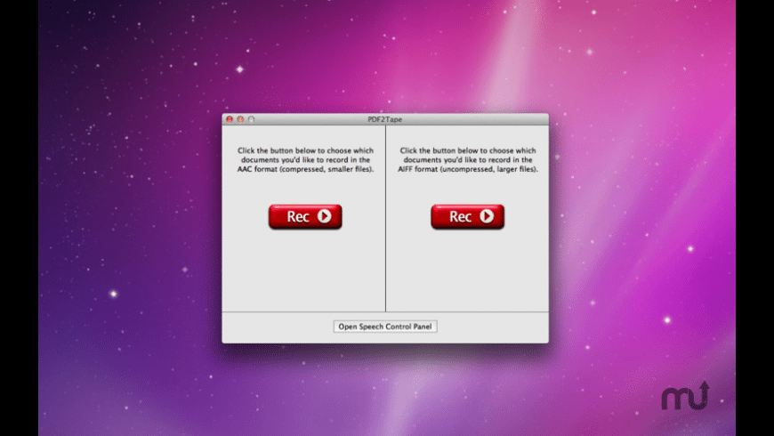 PDF2Tape for Mac - review, screenshots