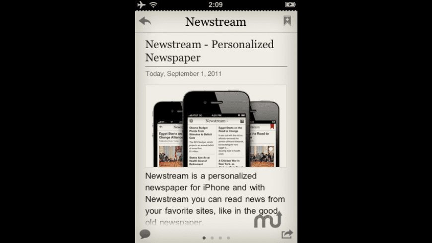 Newstream for Mac - review, screenshots