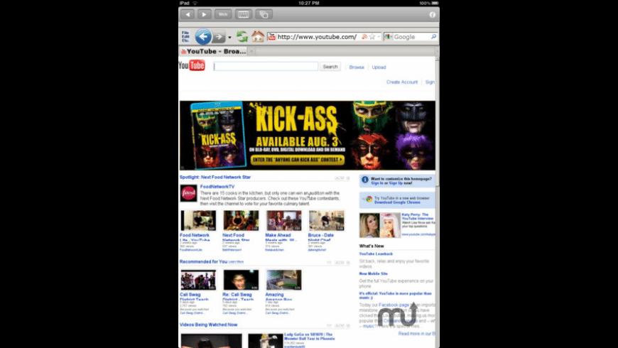 Cloud Browse for Mac - review, screenshots