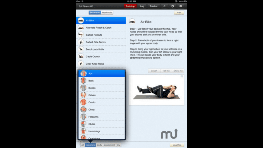 Fitness Trainer HD for Mac - review, screenshots
