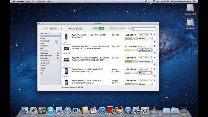 youBay for Mac - review, screenshots
