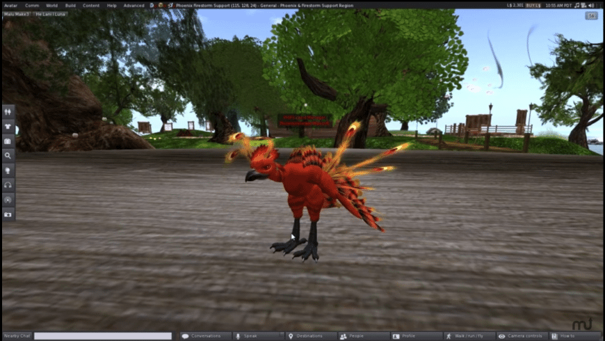 Phoenix Firestorm Viewer for Mac - review, screenshots