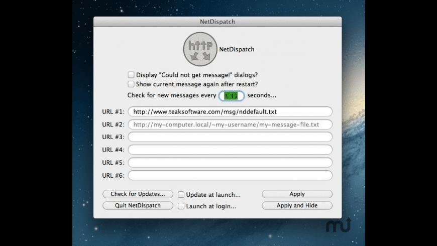 NetDispatch for Mac - review, screenshots