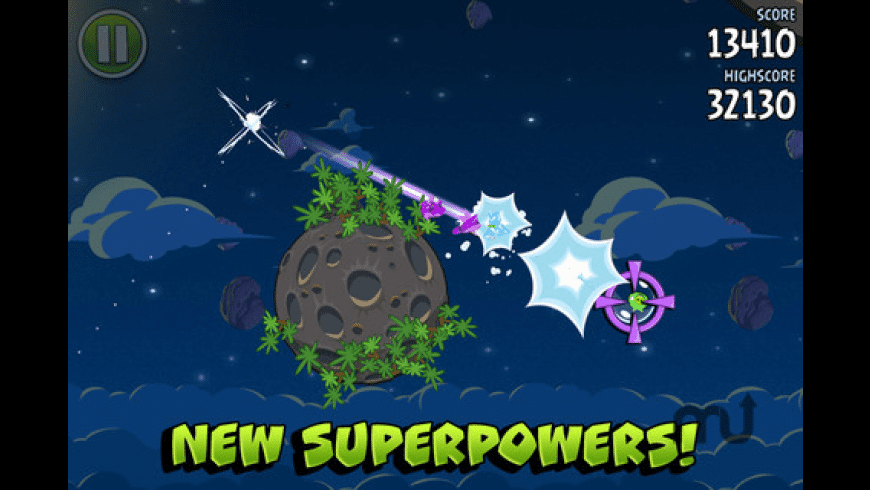 Angry Birds Space for Mac - review, screenshots