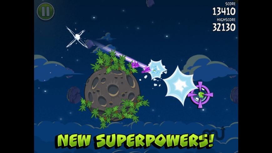 Angry Birds Space HD for Mac - review, screenshots