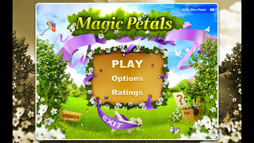 Magic Petals for Mac - review, screenshots