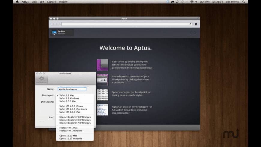 Aptus for Mac - review, screenshots