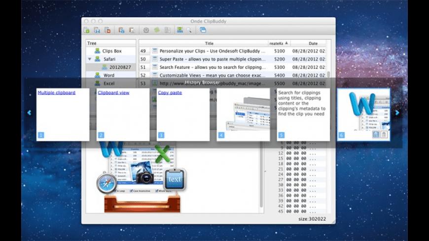 ClipBuddy for Mac - review, screenshots