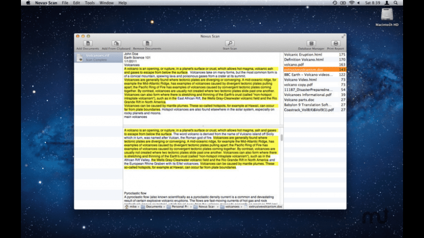 Novus Scan for Mac - review, screenshots