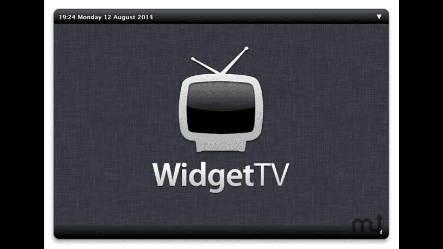 WidgetTV for Mac - review, screenshots