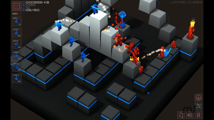 Cubemen for Mac - review, screenshots