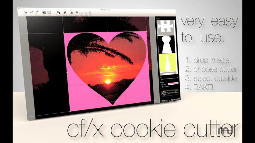 cf/x cookie cutter for Mac - review, screenshots