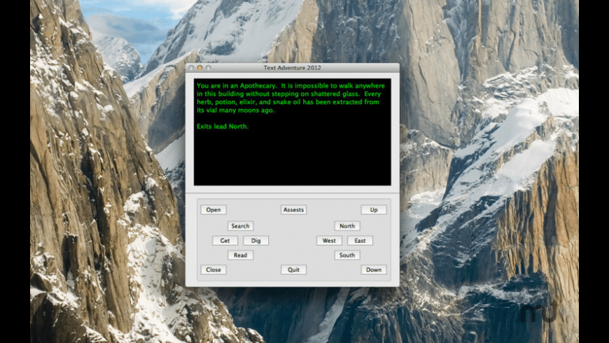 Text Adventure 2012 for Mac - review, screenshots