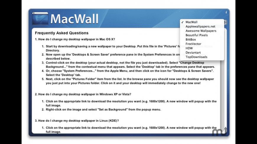 MacWall for Mac - review, screenshots