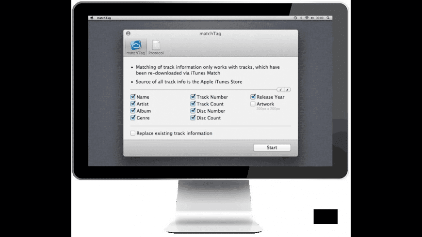 matchTag for Mac - review, screenshots