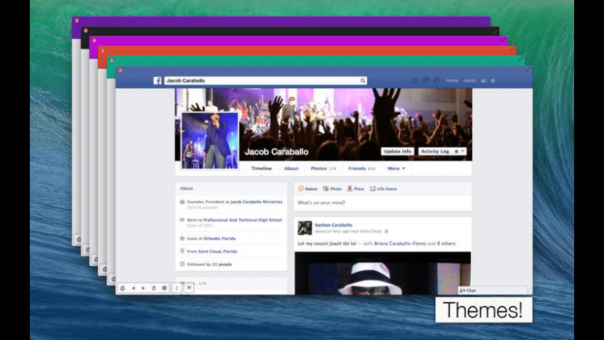 myBuddy for Facebook for Mac - review, screenshots