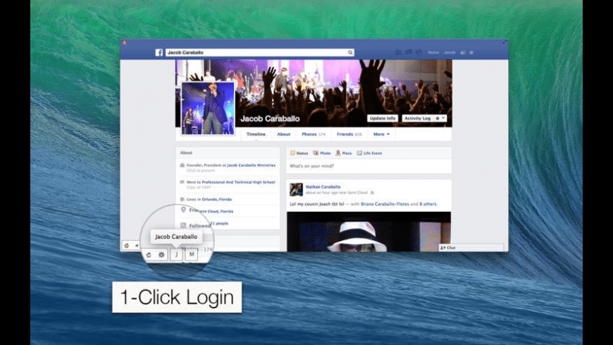 myBuddy for Facebook for Mac - review, screenshots