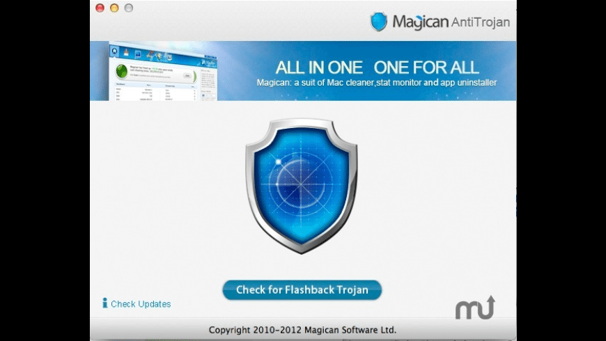 Magican AntiTrojan for Mac - review, screenshots