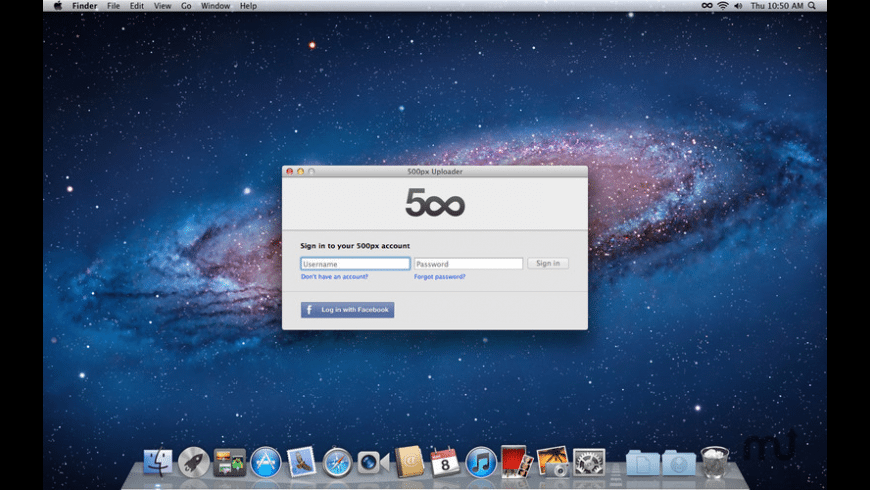 500px Uploader for Mac - review, screenshots