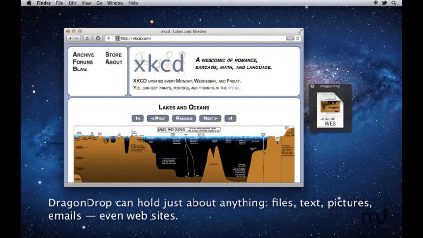 DragonDrop for Mac - review, screenshots
