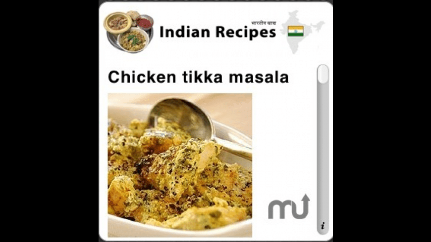 Indian Recipes for Mac - review, screenshots