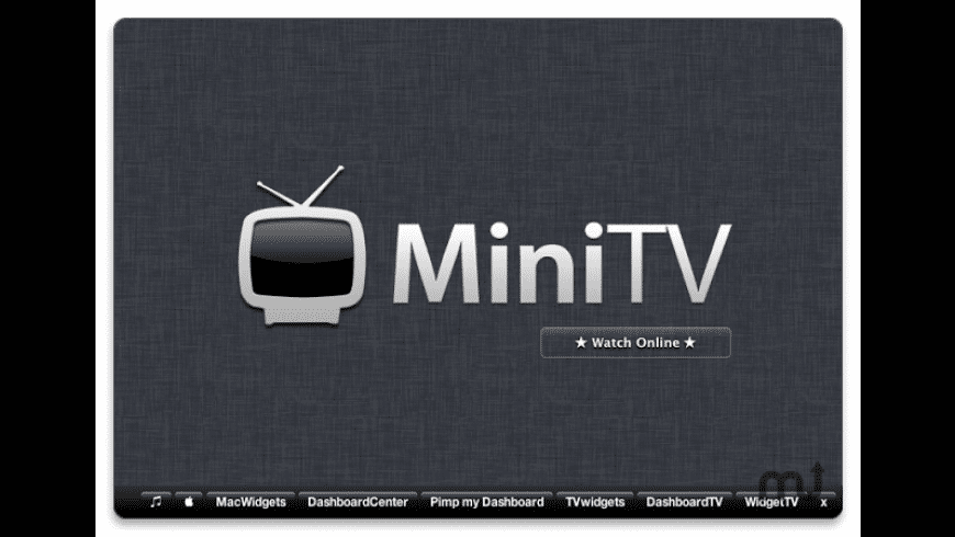 MiniTV for Mac - review, screenshots