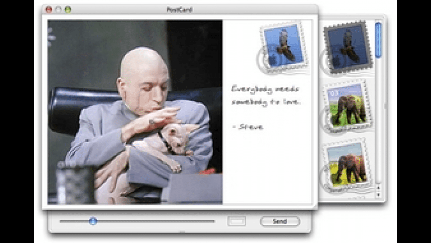 PostCard for Mac - review, screenshots