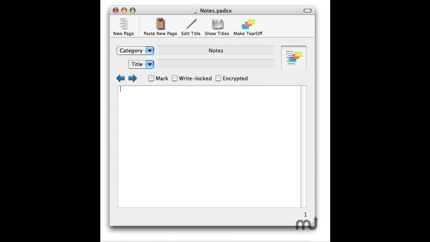 Pads X for Mac - review, screenshots