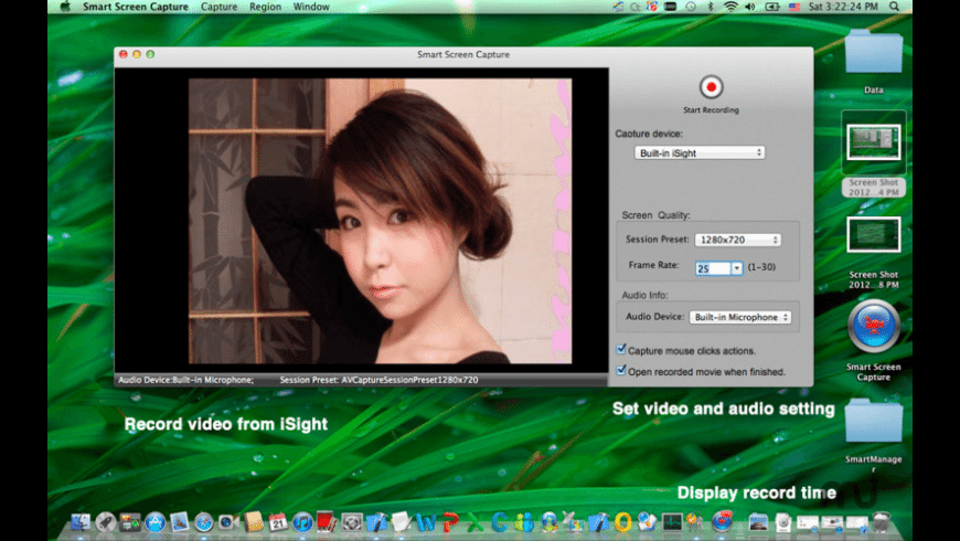 Smart Screen Capture for Mac - review, screenshots