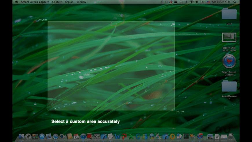 Smart Screen Capture for Mac - review, screenshots