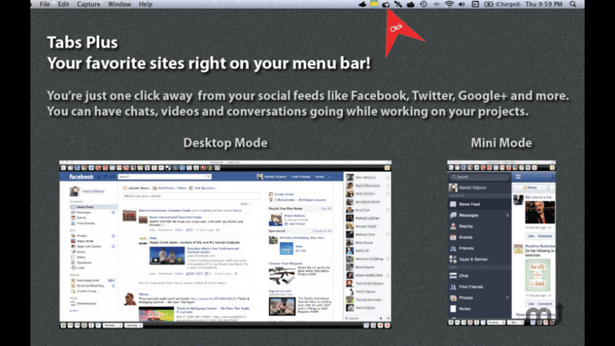 Tabs Plus for Mac - review, screenshots