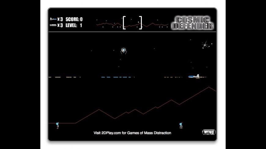 Cosmic Defender for Mac - review, screenshots