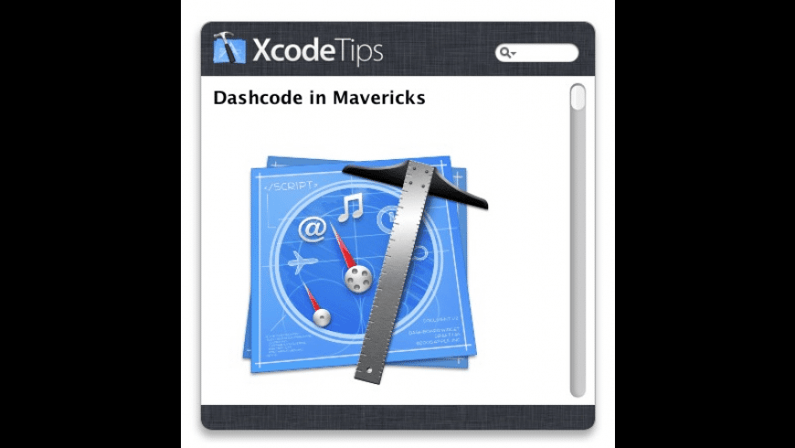 XcodeTips for Mac - review, screenshots