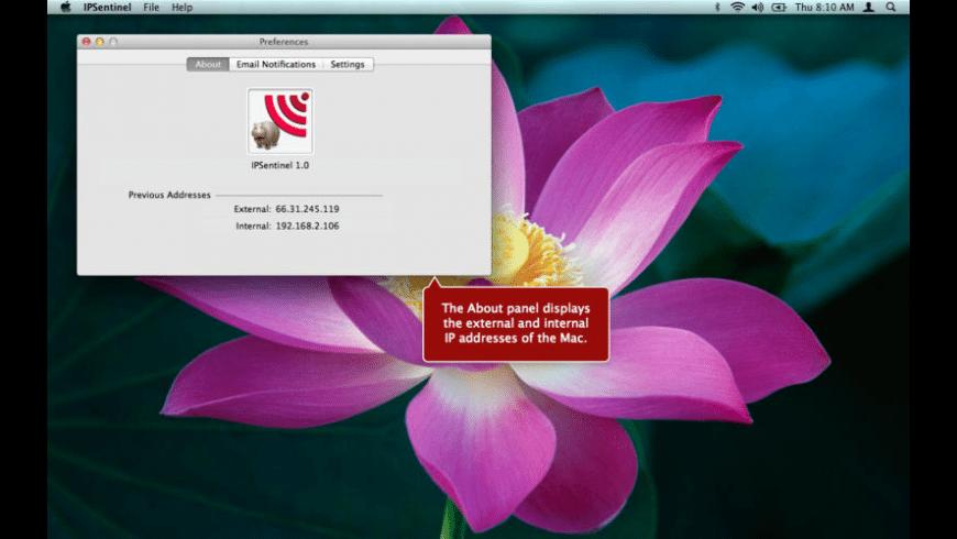 IPSentinel for Mac - review, screenshots
