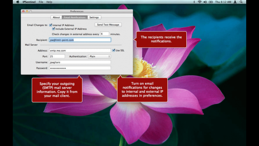 IPSentinel for Mac - review, screenshots