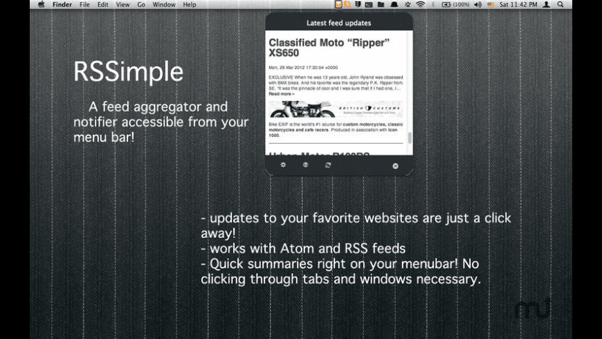 RSSimple for Mac - review, screenshots
