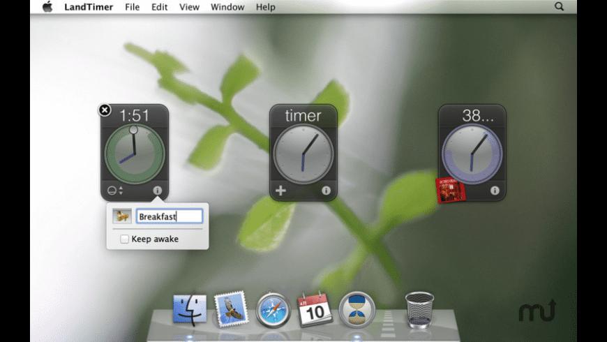 LandTimer for Mac - review, screenshots