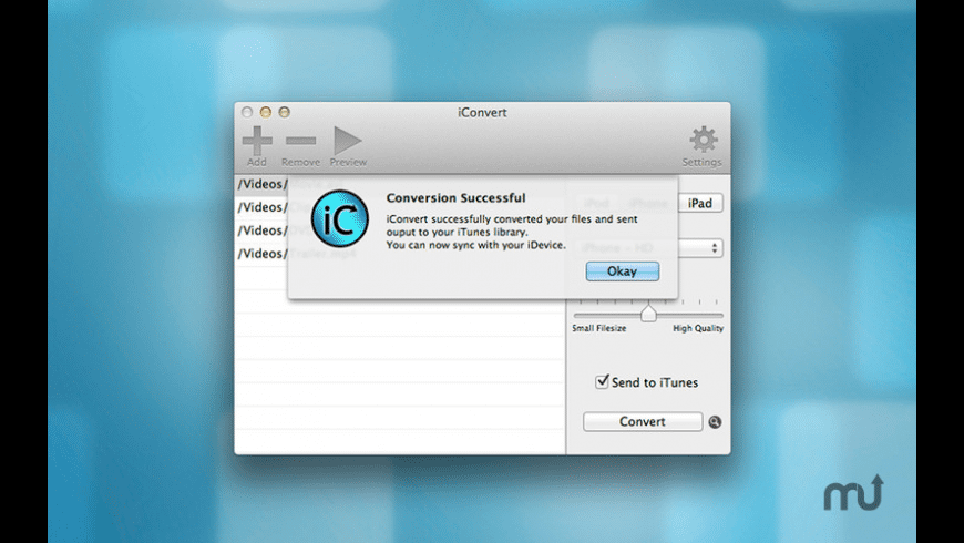 iConvert HD for Mac - review, screenshots