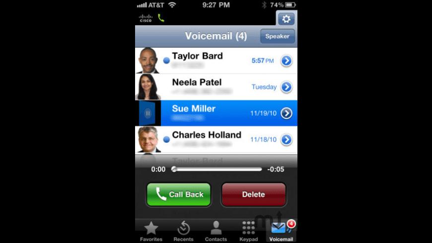 Cisco Jabber Video for TelePresence for Mac - review, screenshots