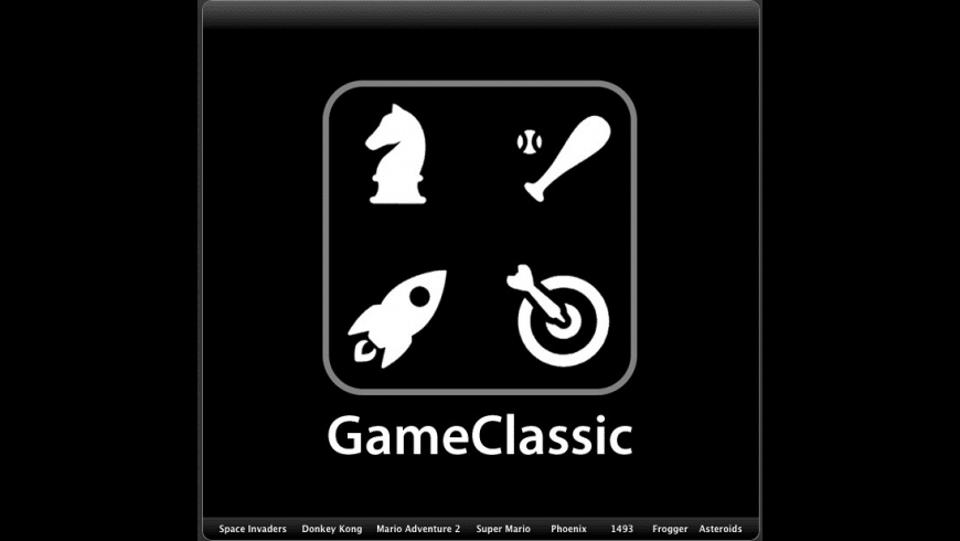 GameClassic for Mac - review, screenshots