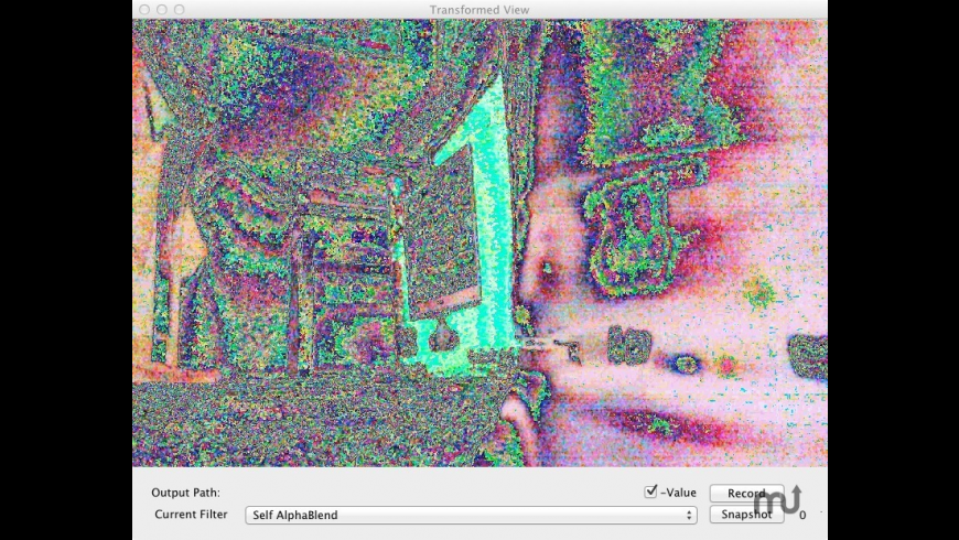 Acid Cam for Mac - review, screenshots