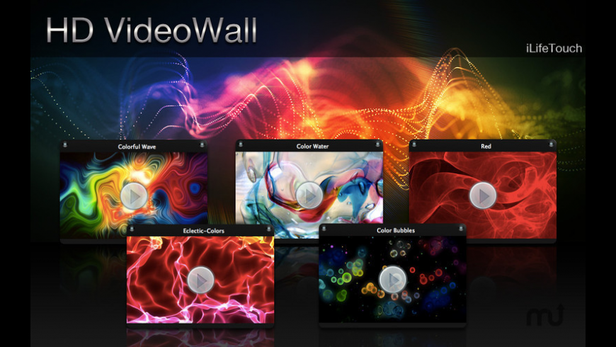 HD VideoWall for Mac - review, screenshots